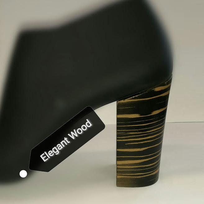 verniciatura tacchi elegant wood